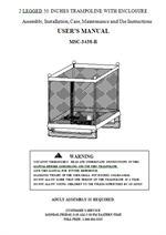 sportspower 15 trampoline instructions