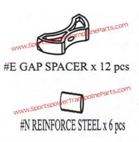 Key E - Gap Spacers for the 12ft TR-126COM-GLZ (Set of 12)