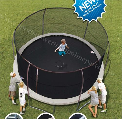 Trampoline Parts Com: Enclosure Netting For The 14' Bounce Pro Flex Models