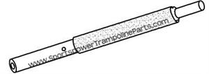 "Lower Frame Tube for the 50"" SPORTSPOWER MSC-3438-R - Key 10"